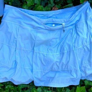 COPY - Lululemon Pace Rival Skirt Periwinkle blue